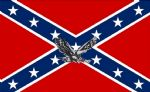 REBEL EAGLE (CONFEDERATE) - 5 X 3 FLAG